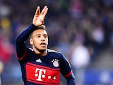 Corentin Tolisso in action for Bayern Munich on October 21, 2017