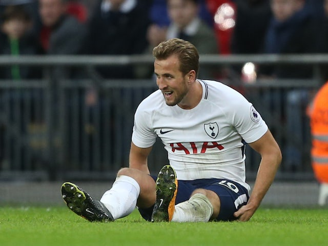 Harry Kane hobbles off with ankle injury