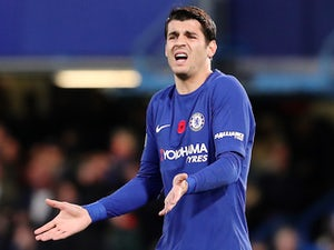 Conte worried about Morata fitness