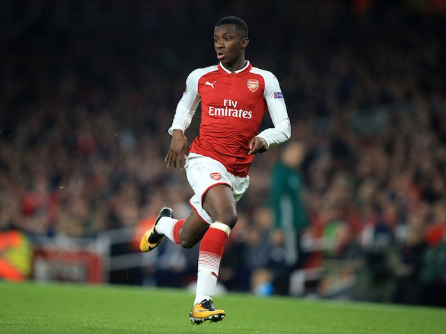 Carabao Cup Hero Eddie Nketiah Signs New Arsenal Contract
