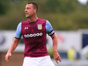 John Terry playing for Aston Villa in July 2017