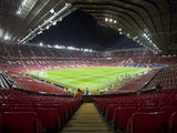 A general view inside Old Trafford ahead of the Champions League group game between Manchester United and Benfica on October 31, 2017