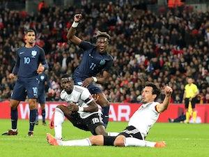 Inexperienced England hold Germany