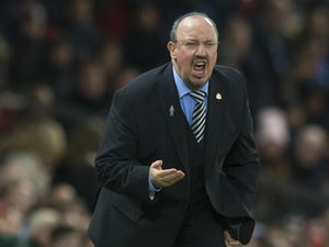 Team News: Benitez makes five changes for Newcastle