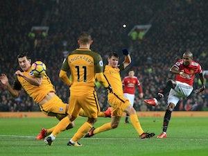 United need own goal to beat Brighton