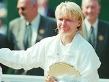 Jana Novotna pictured in 1997