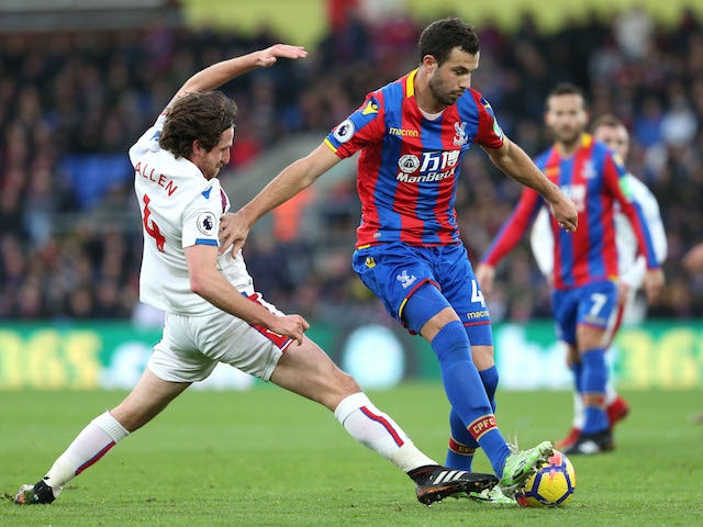Result: Palace clinch late win over Stoke