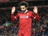Mohamed Salah refuses to celebrate scoring against his old side during the Premier League game between Liverpool and Chelsea on November 25, 2017