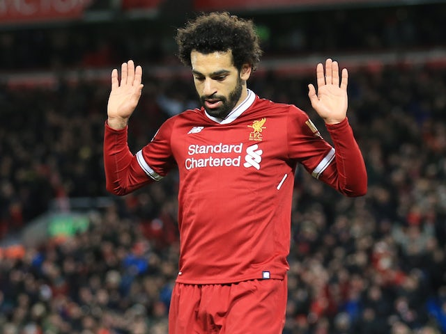 Result: Salah fires Liverpool past Leicester