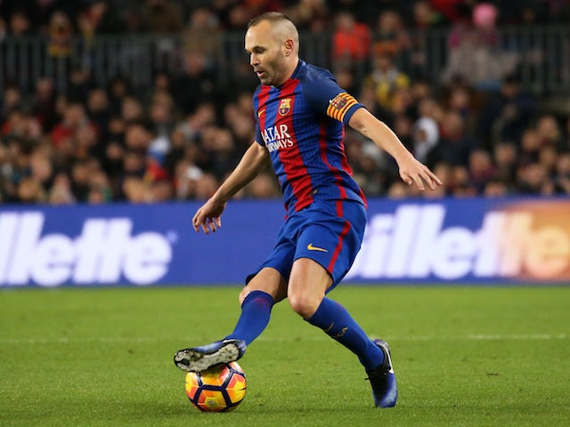 Pep Guardiola leads tributes for Iniesta