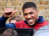 Anthony Joshua pictured in May 2017