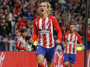 Griezmann nets four in Atletico win