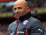 Jorge Sampaoli in charge of Chile in 2015