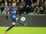 Neymar in action for Paris Saint-Germain on November 22, 2017