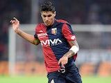 Pietro Pellegri in action for Genoa on September 17, 2017