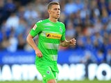 Thorgan Hazard in action for Borussia Monchengladbach in August 2017
