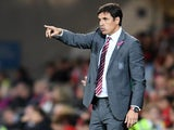 Chris Coleman in charge of Wales in October 2017