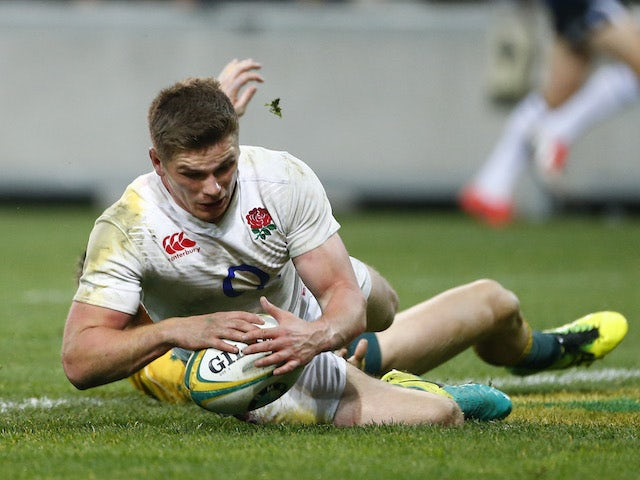McCall backs Farrell for England captaincy