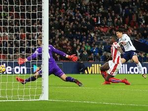 Spurs put five past sorry Stoke