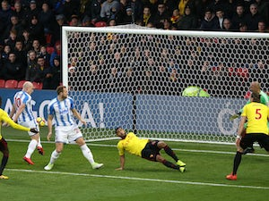Huddersfield hit four past Watford
