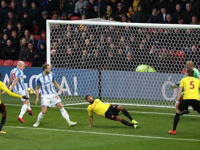 Result: Huddersfield hit four past Watford