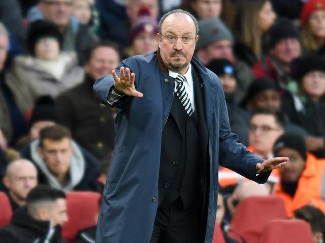 Rafa Benitez reacts to criticism of his Newcastle players