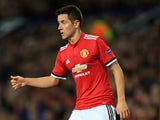 Manchester United midfielder Ander Herrera in action during his side's Champions League clash with CSKA Moscow on December 5, 2017