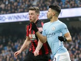 Jack Simpson of Bournemouth makes his Premier League debut against Manchester City on December 23, 2017