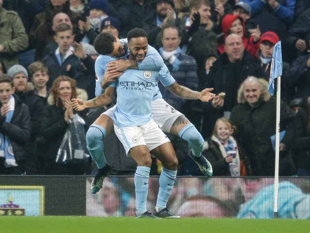 Image result for man city 4-0 bournemouth december 2017