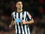 Aleksandar Mitrovic in action for Newcastle United on November 18, 2017