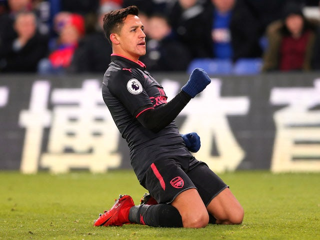 Result: Sanchez brace fires Arsenal past Palace