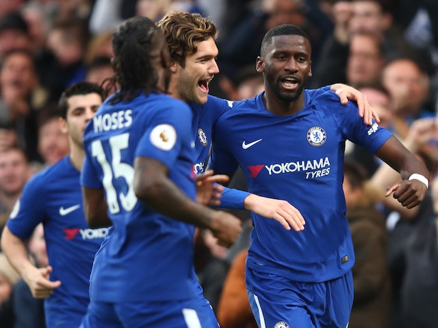 Chelsea put five past sorry Stoke City