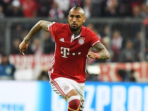 Bayern's Vidal out for rest of season