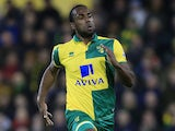 Cameron Jerome in action for Norwich City in March 2016