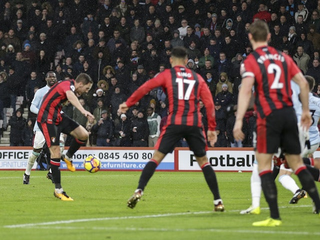 Result: Bournemouth snatch controversial point