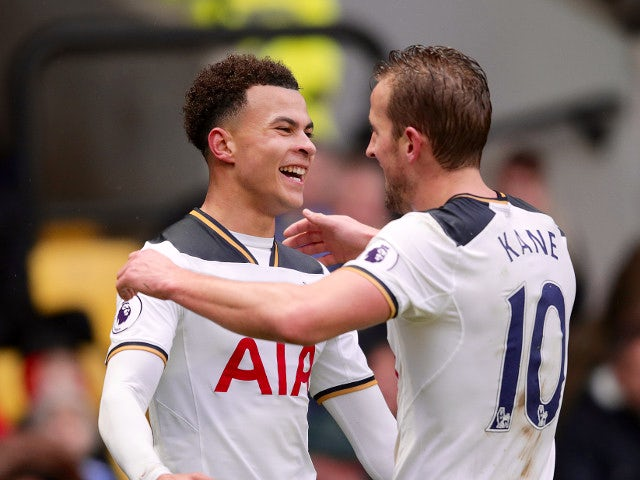 Result: Kane double downs Everton