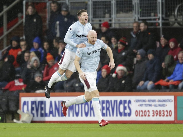 West Ham 'ditched James Collins by email'