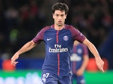 Javier Pastore in action for Paris Saint-Germain in the Champions League on November 22, 2017