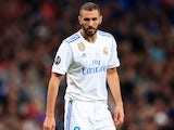 Karim Benzema in action for Real Madrid in October 2017