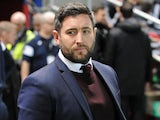 Lee Johnson in charge of Bristol City on December 20, 2017