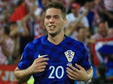 Marko Pjaca in action for Croatia in June 2016