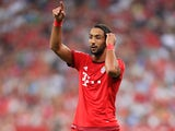 Medhi Benatia in action for Bayern Munich in 2015