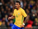 Paulinho in action for Brazil against England on November 14, 2017