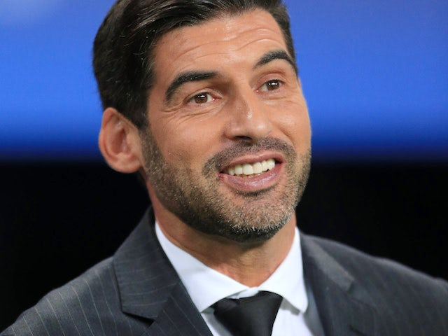 Shakhtar Donetsk manager Paulo Fonseca pictured in September 2017