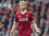 Ragnar Klavan in action for Liverpool on September 17, 2017