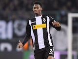 Reece Oxford in action for Borussia Monchengladbach on December 15, 2017