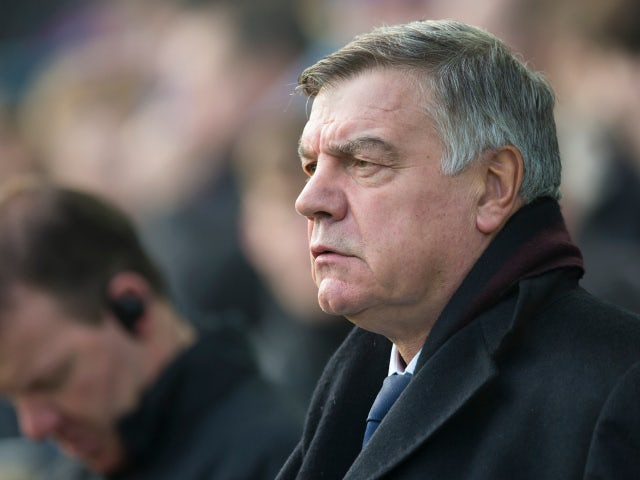 Everton manager Sam Allardyce at the Premier League match against Chelsea on December 23, 2017