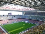 Generic view inside San Siro in March 2017