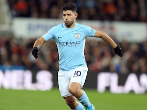 Aguero brace helps Man City into fourth round