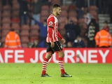 Southampton attacker Sofiane Boufal in action during the Premier League clash with West Bromwich Albion at St Mary's on December 31, 2016